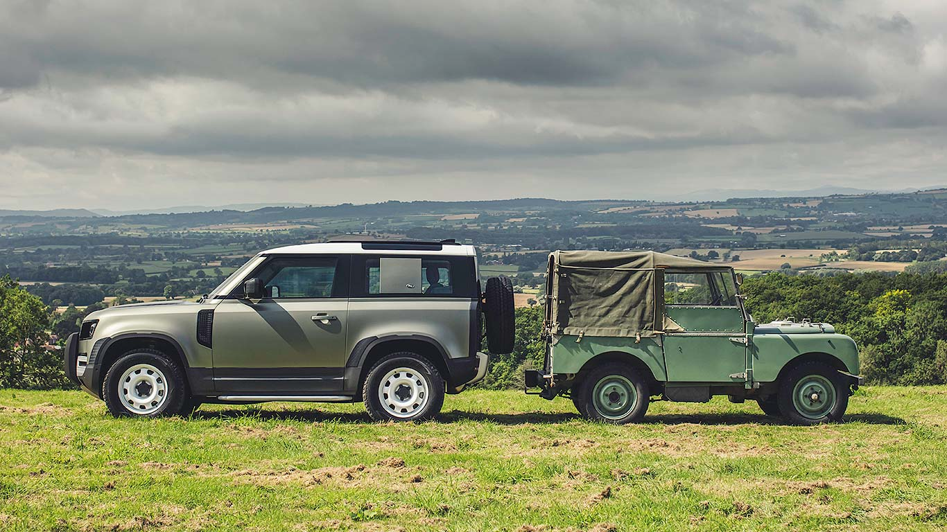Land Rover Defender: new vs old