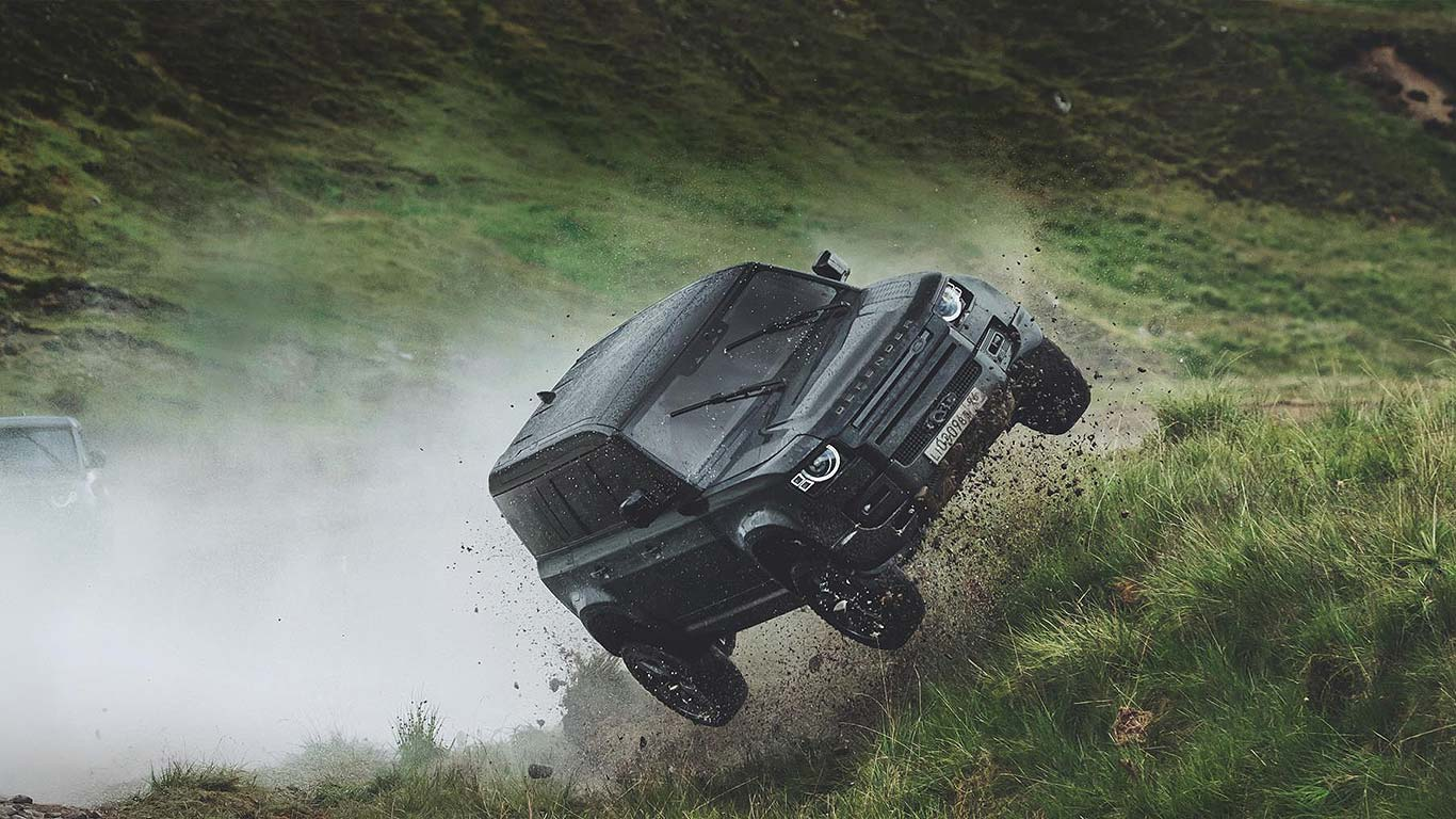 James Bond Land Rover