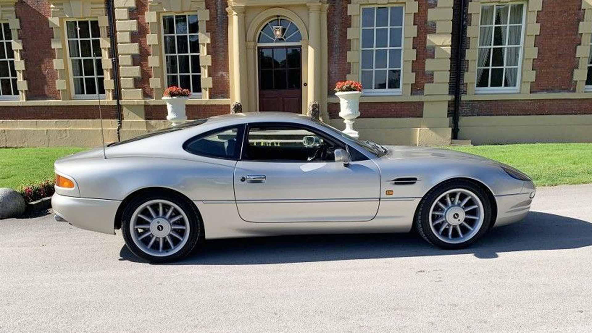 Roy Keane's Aston Martin DB7