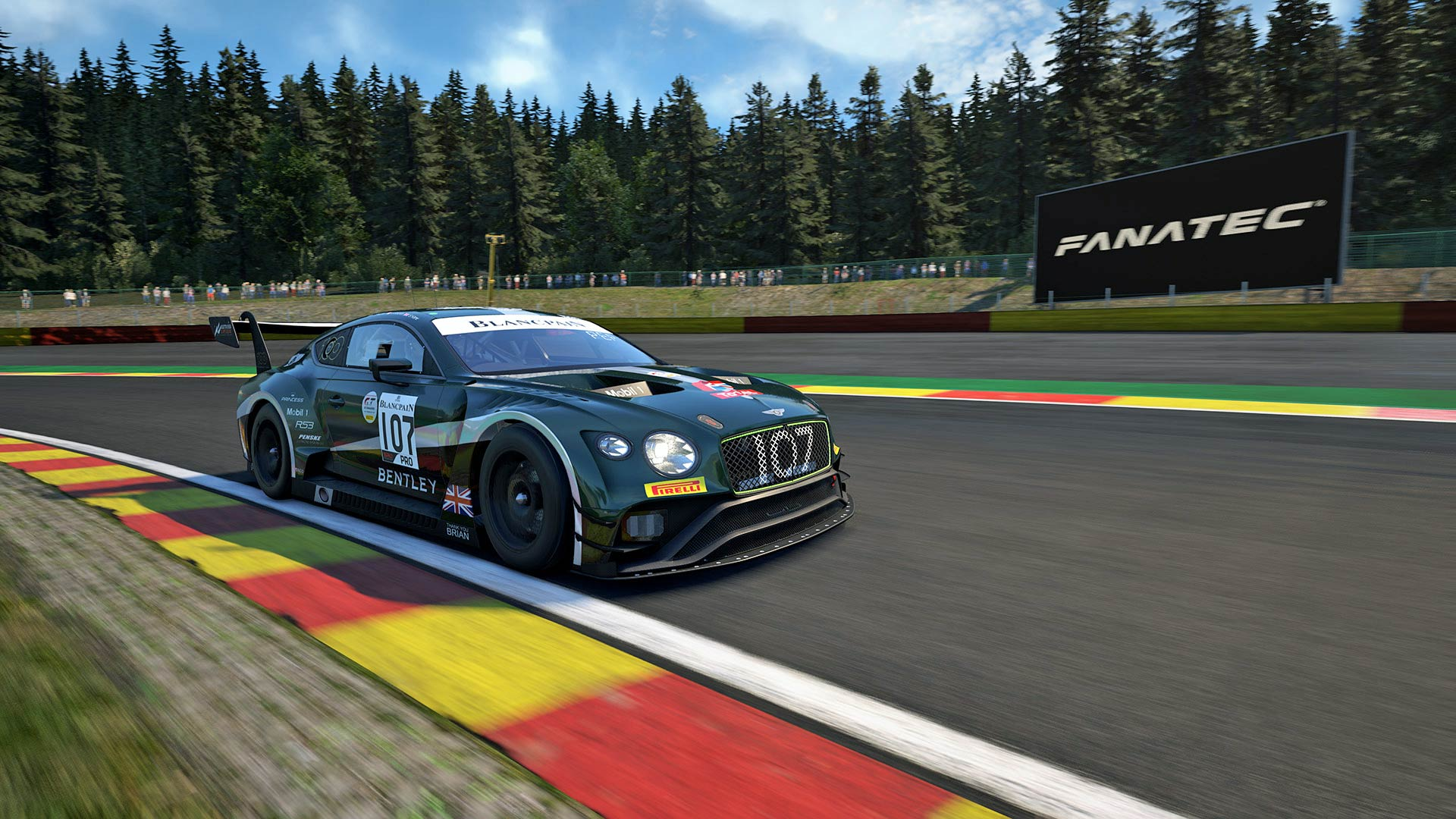 Bentley SRO Charity Esports Race