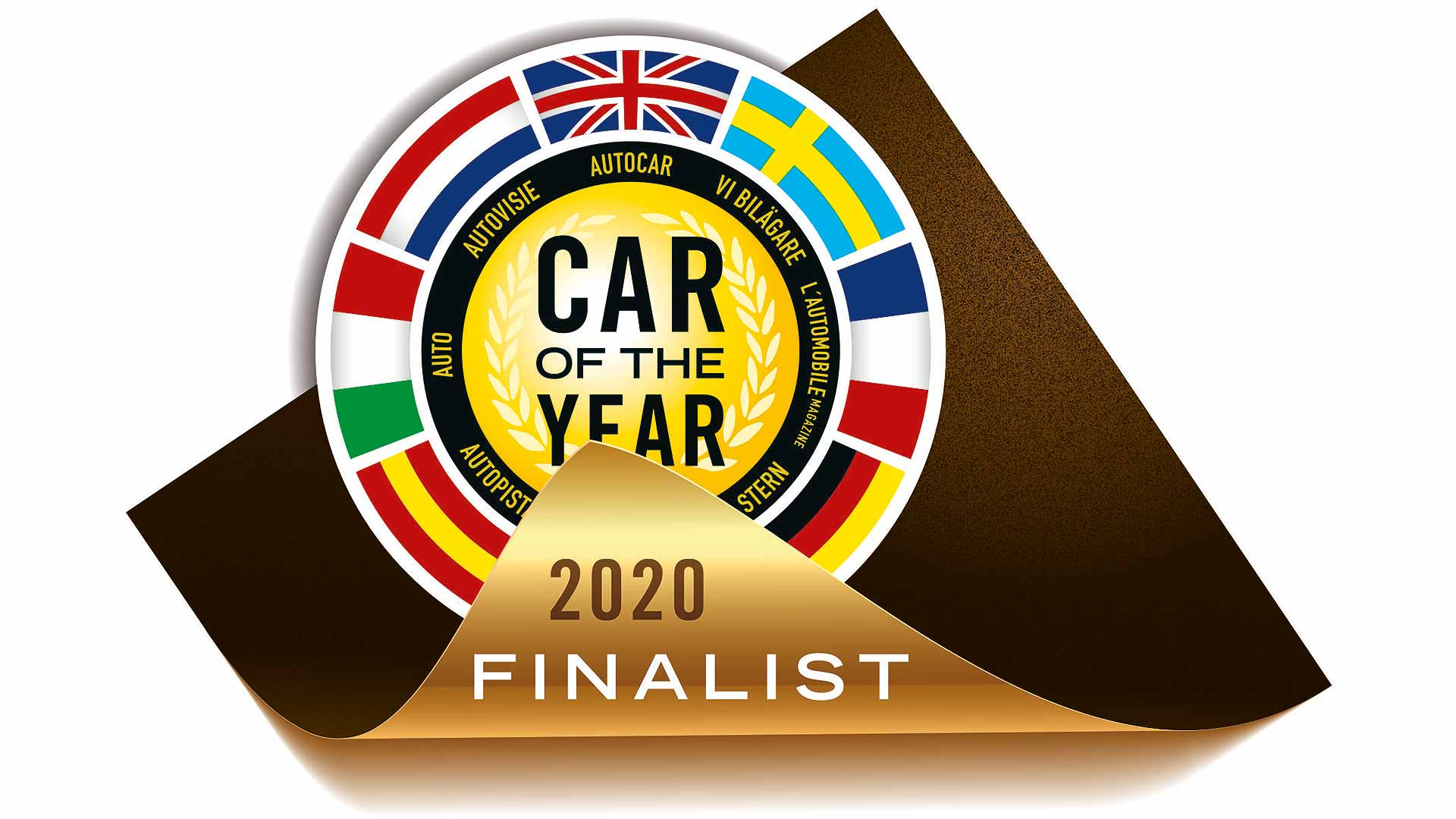 Car of the Year 2020 logo