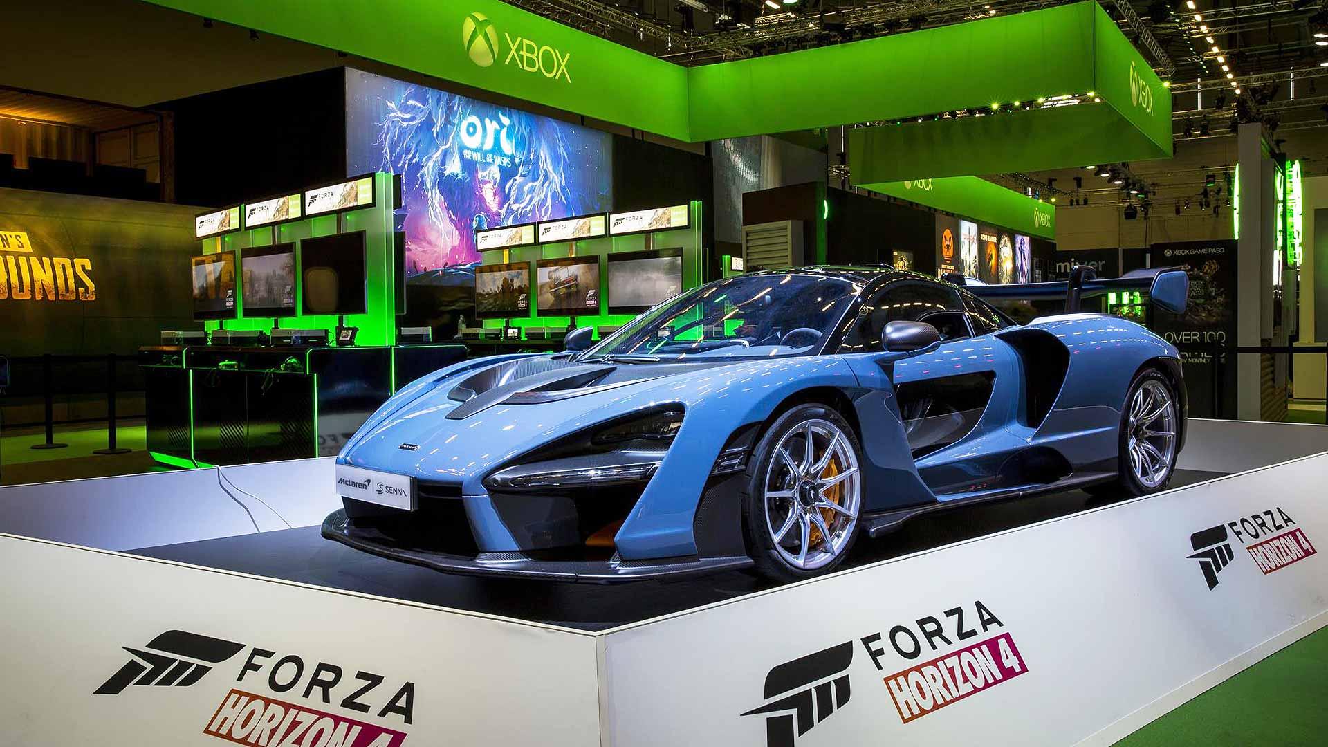 McLaren Senna in Forza Horizon 4 Xbox video game