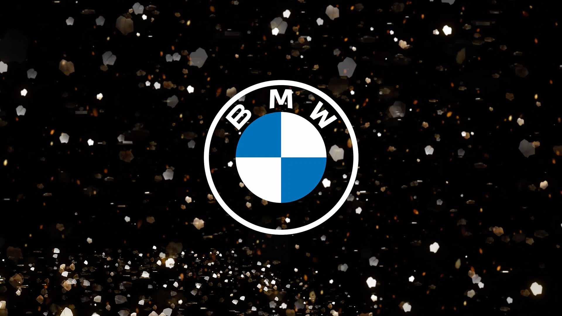 New 2D BMW logo