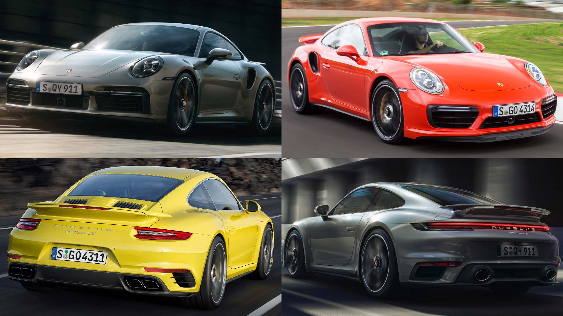 Spot The Difference New Vs Old Porsche 911 Turbo
