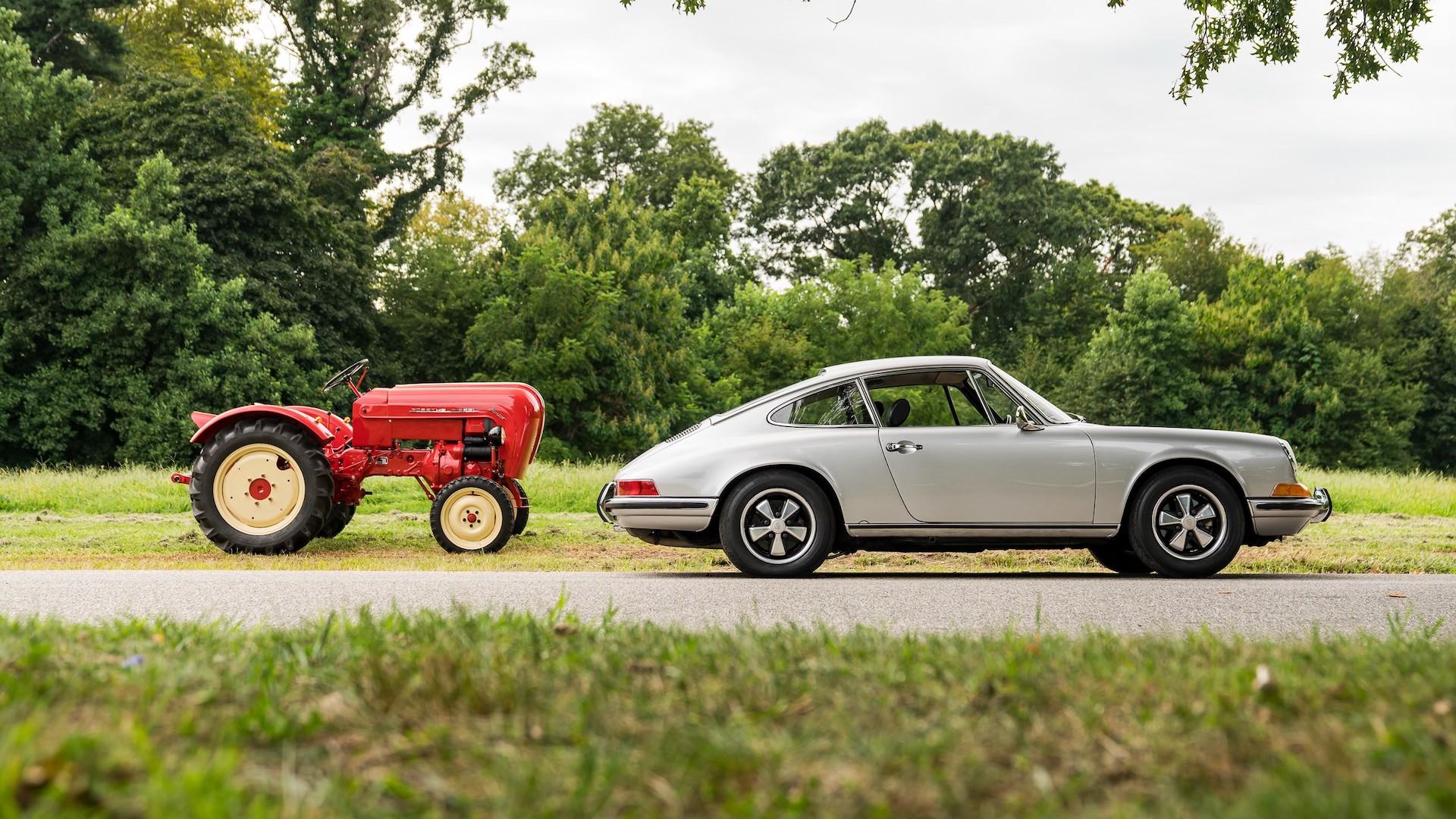 Porsche Diesel Junior 108 tractor