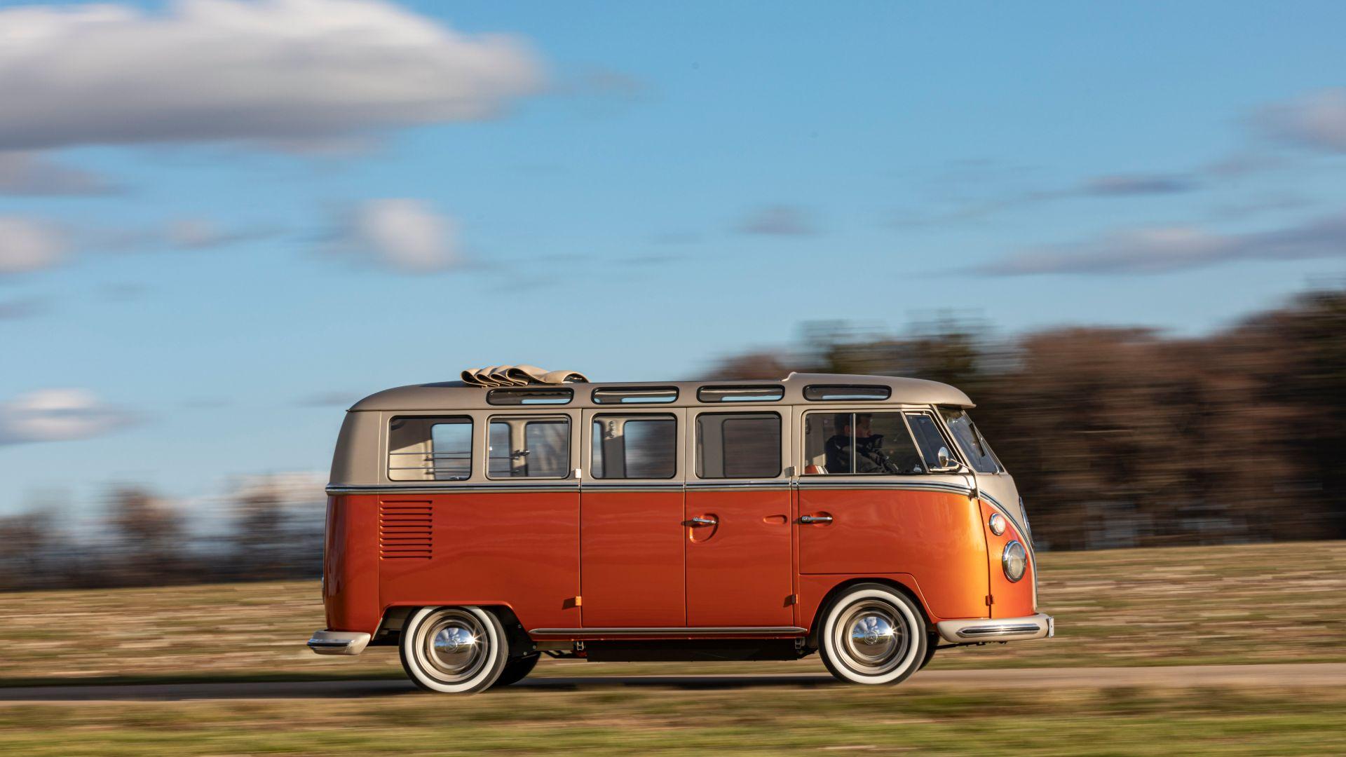 Volkswagen e-Bulli electrified T1 bus