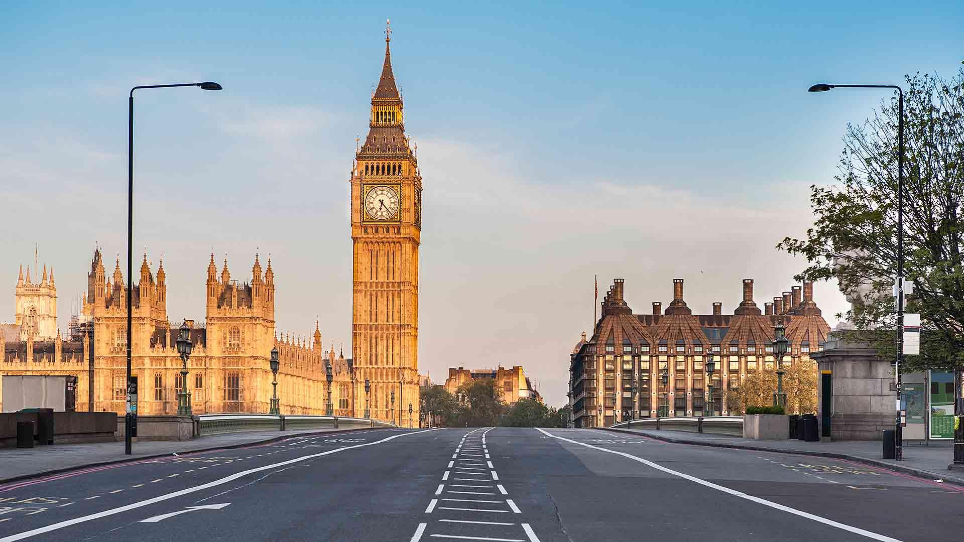 Empty Westminster Bridge
