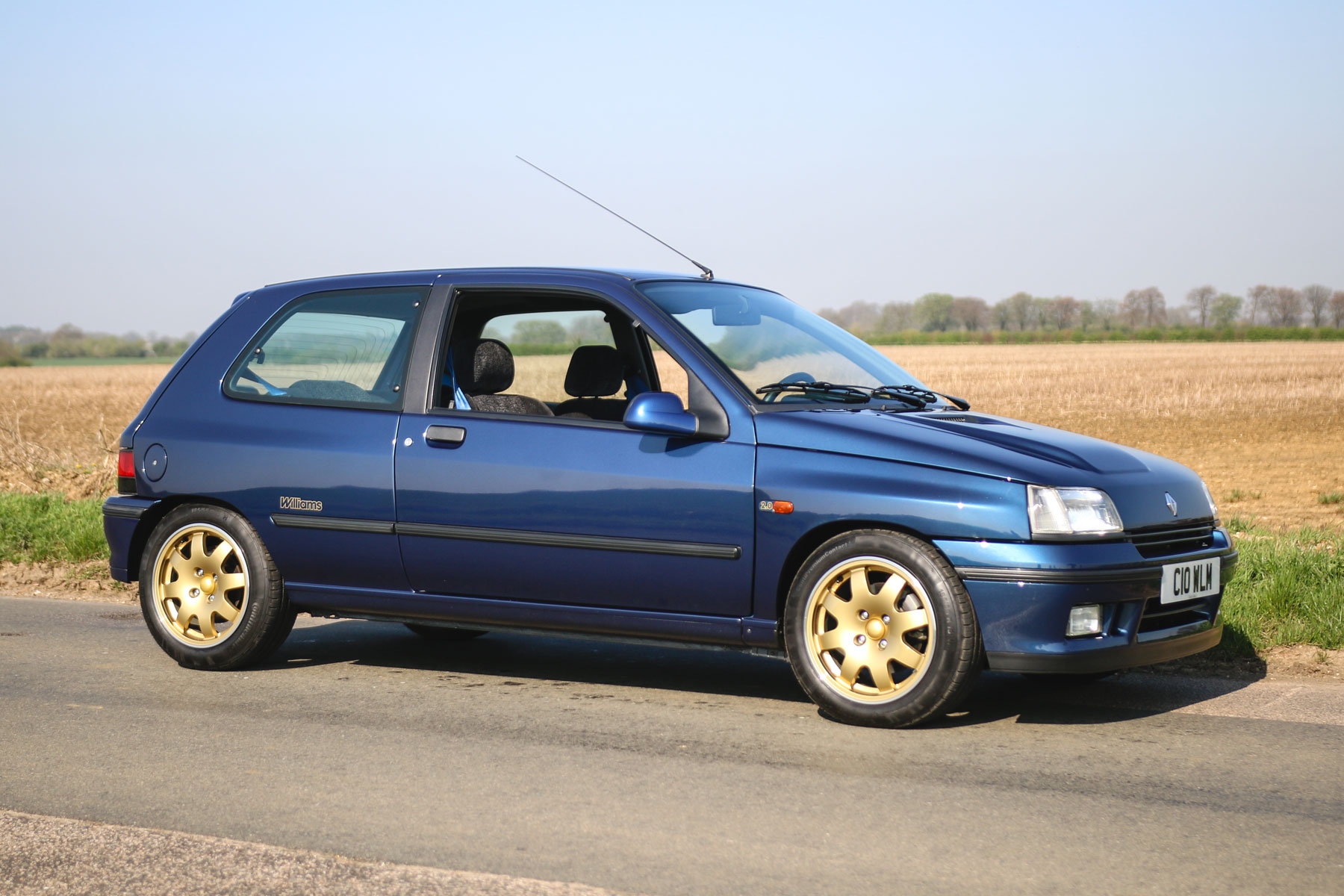 1993 Renault Clio Williams: In Pictures