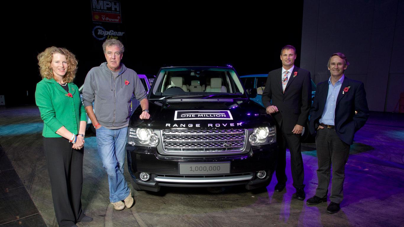 One millionth Range Rover