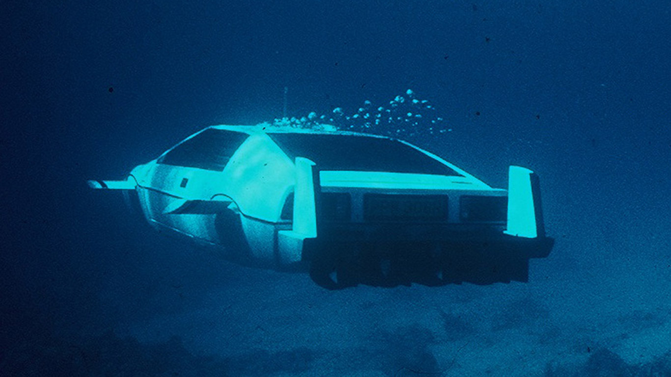 Not to mention the Tesla Model S and its underwater abilities