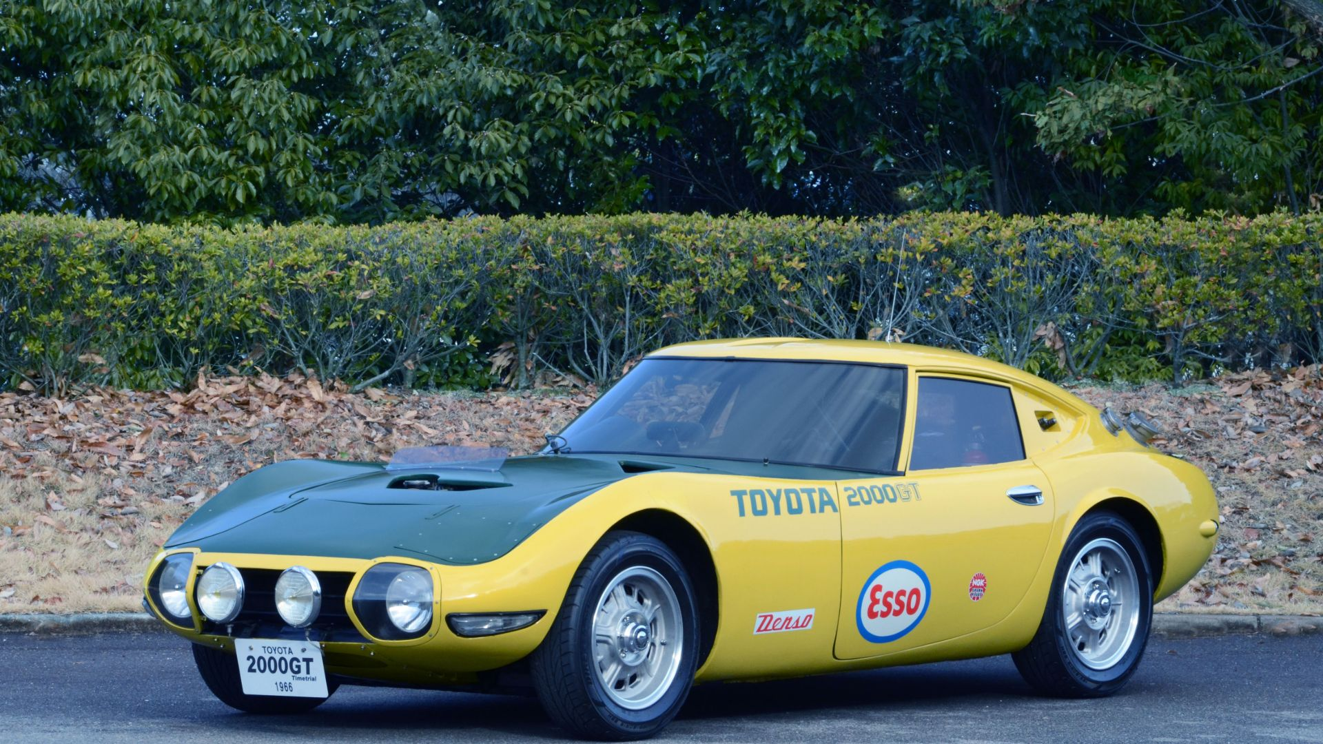 Yatabe Speed Trial Toyota 2000GT