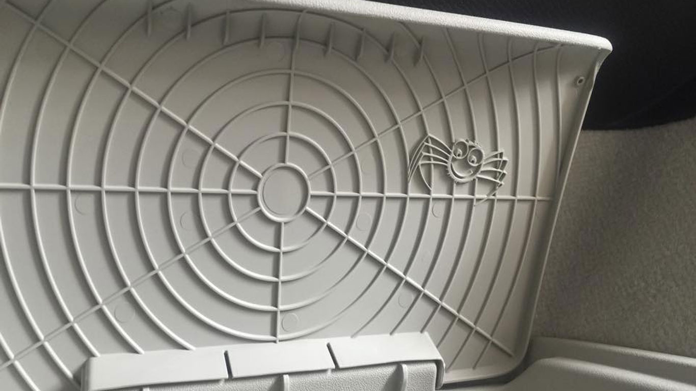 Volvo XC90 spider web