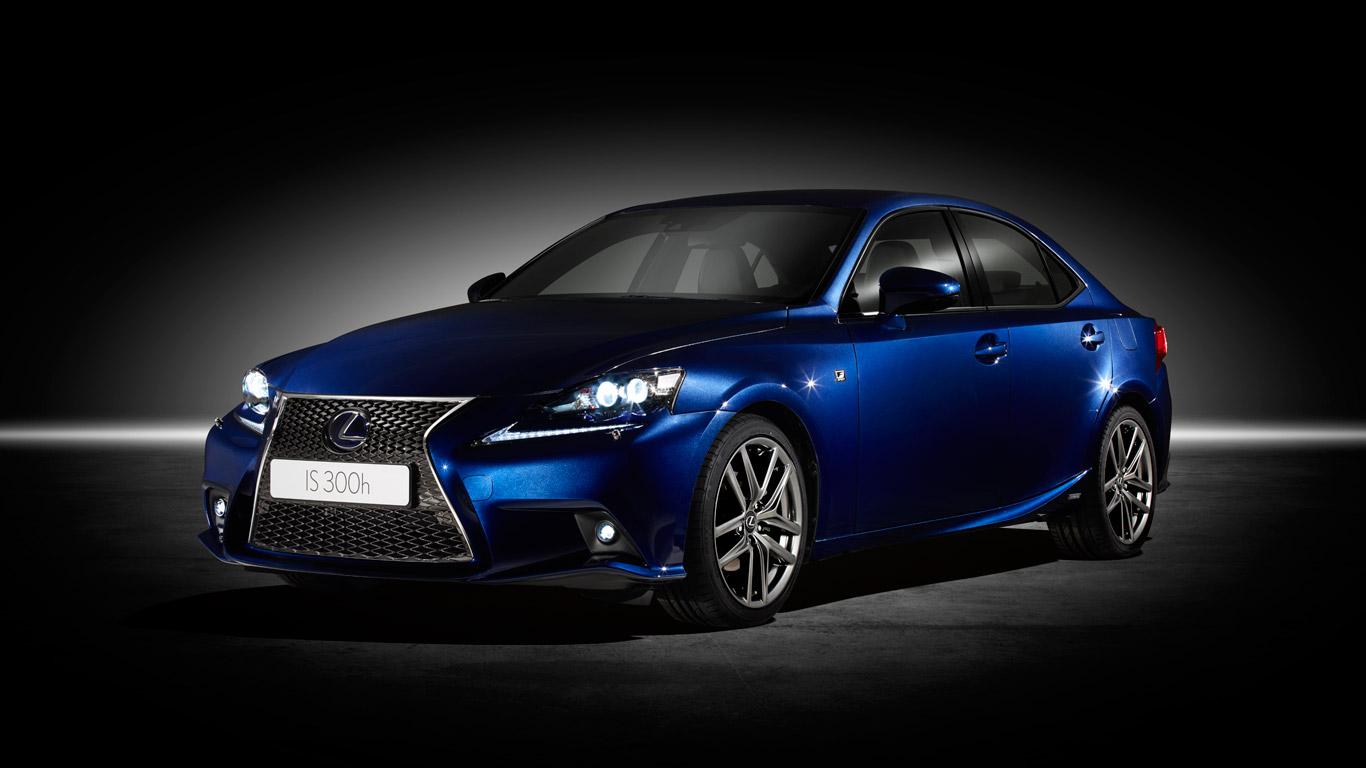 Lexus IS 300h interior light