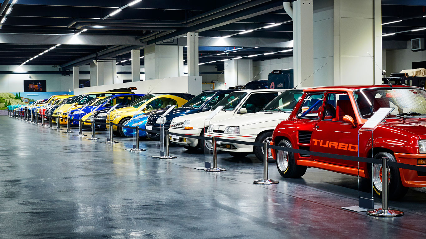 Renault's secret car collection