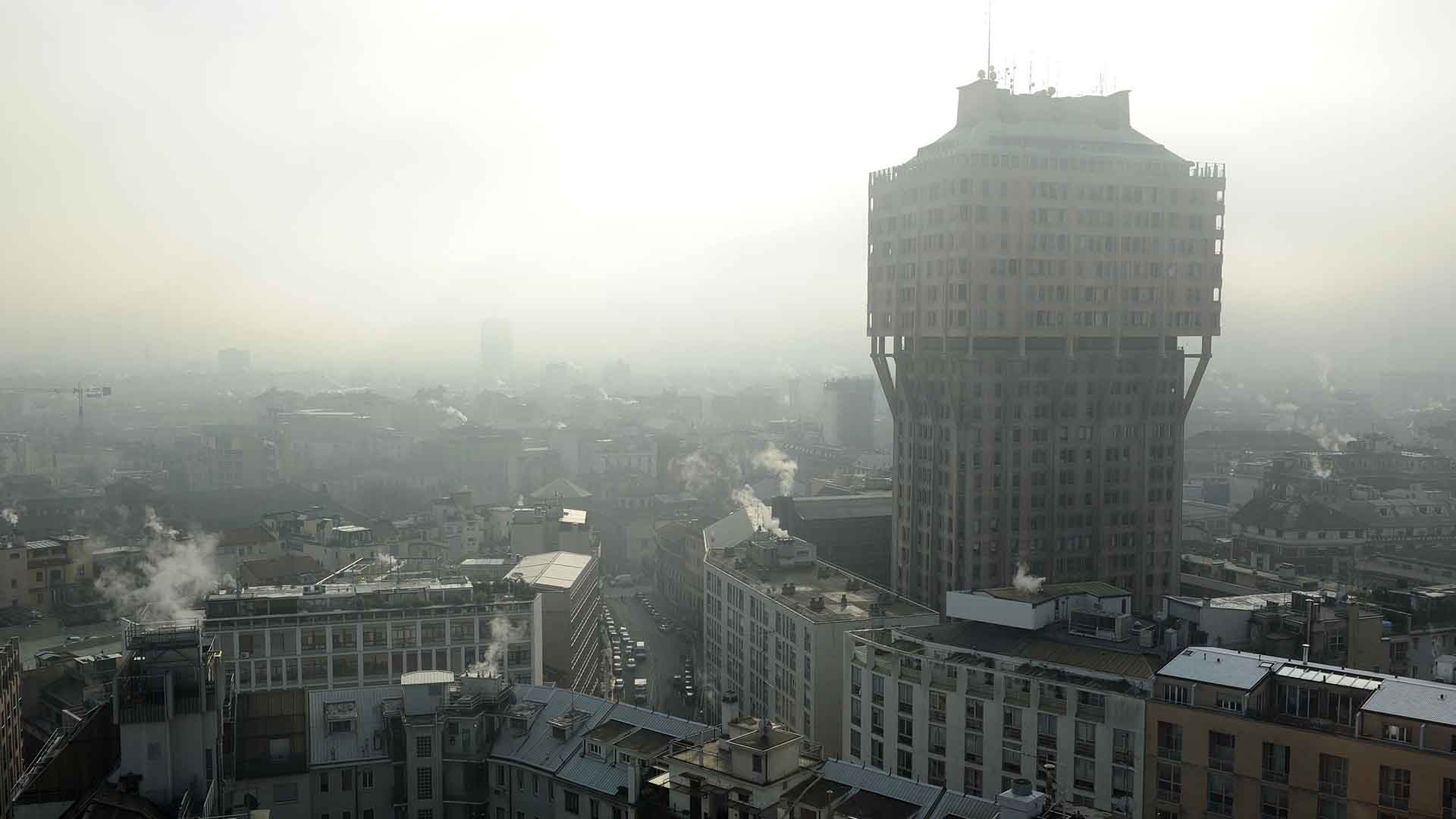 Air pollution in Milan