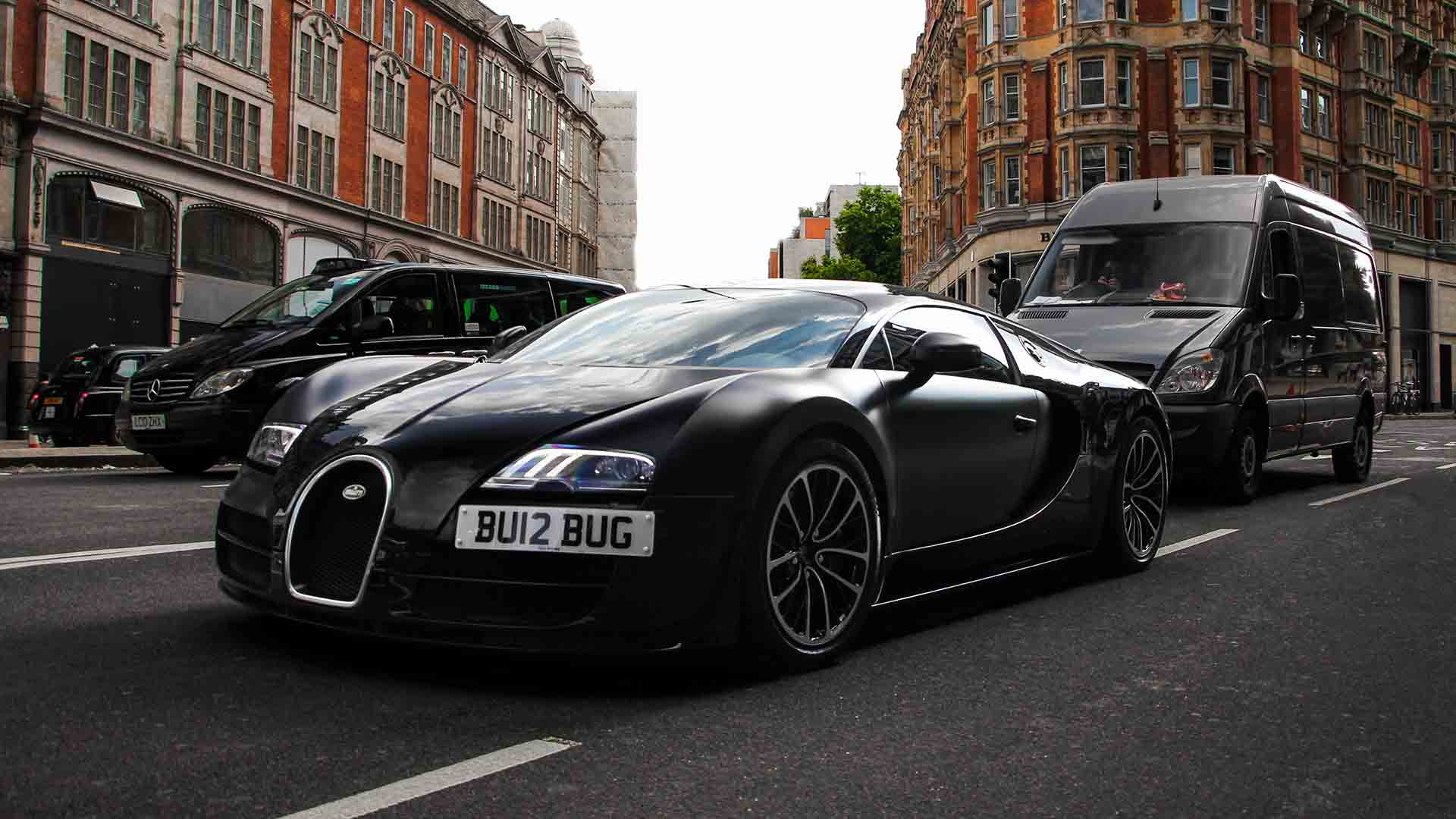 Bugatti Veyron in London