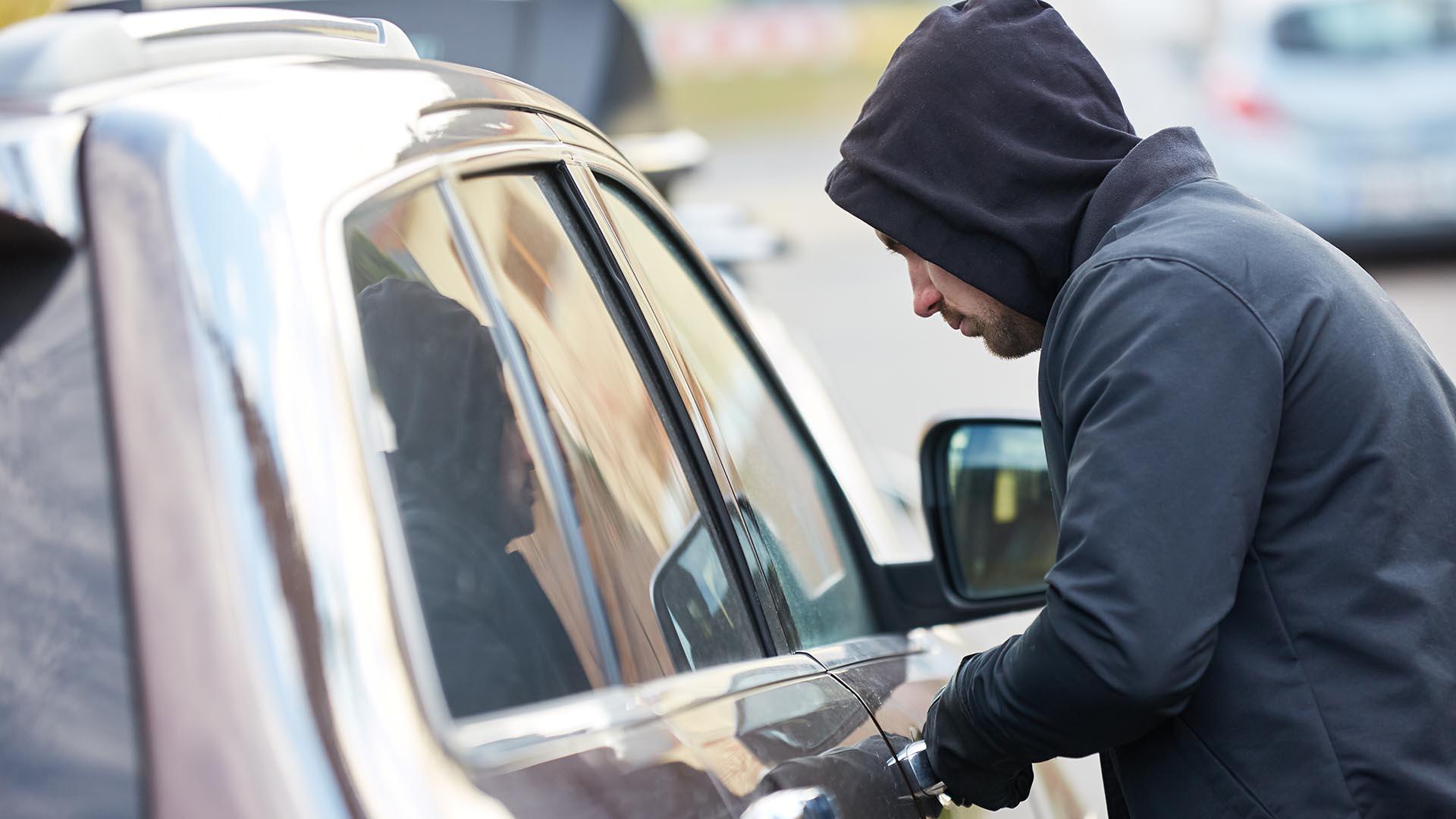 Car parts stolen