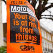 Car thefts up in the UK