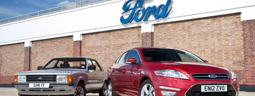 Ford Cortina and Mondeo