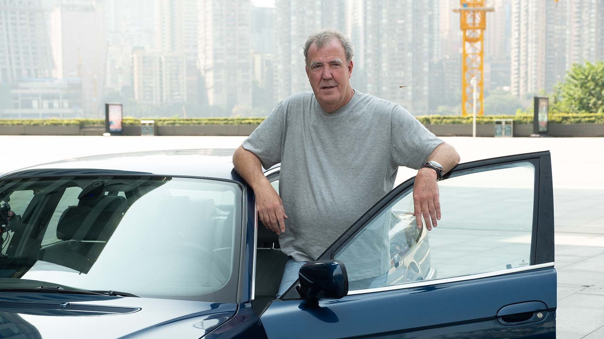 Jeremy Clarkson in China