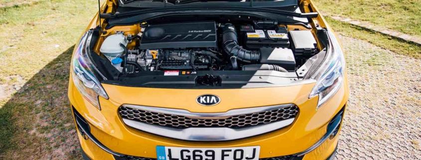Kia Xceed under the bonnet