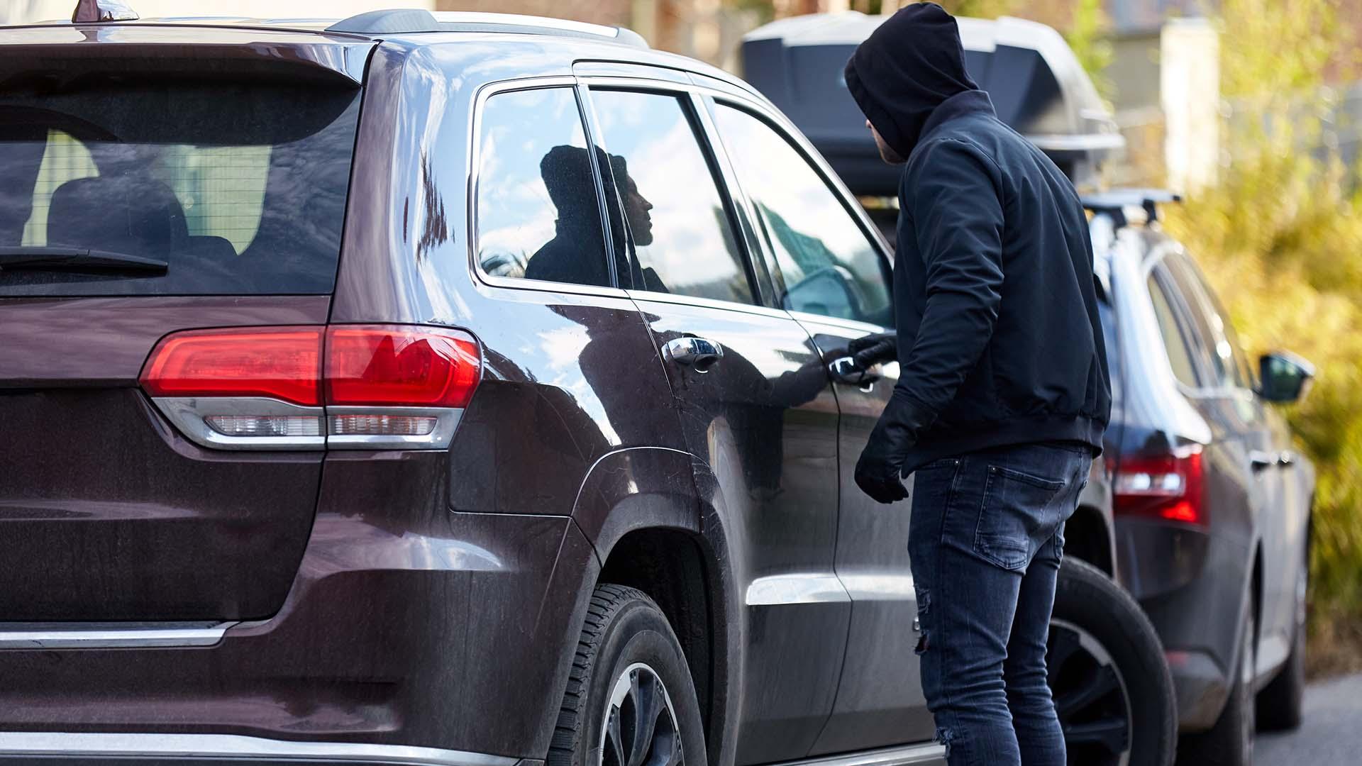 Lockdown car crime