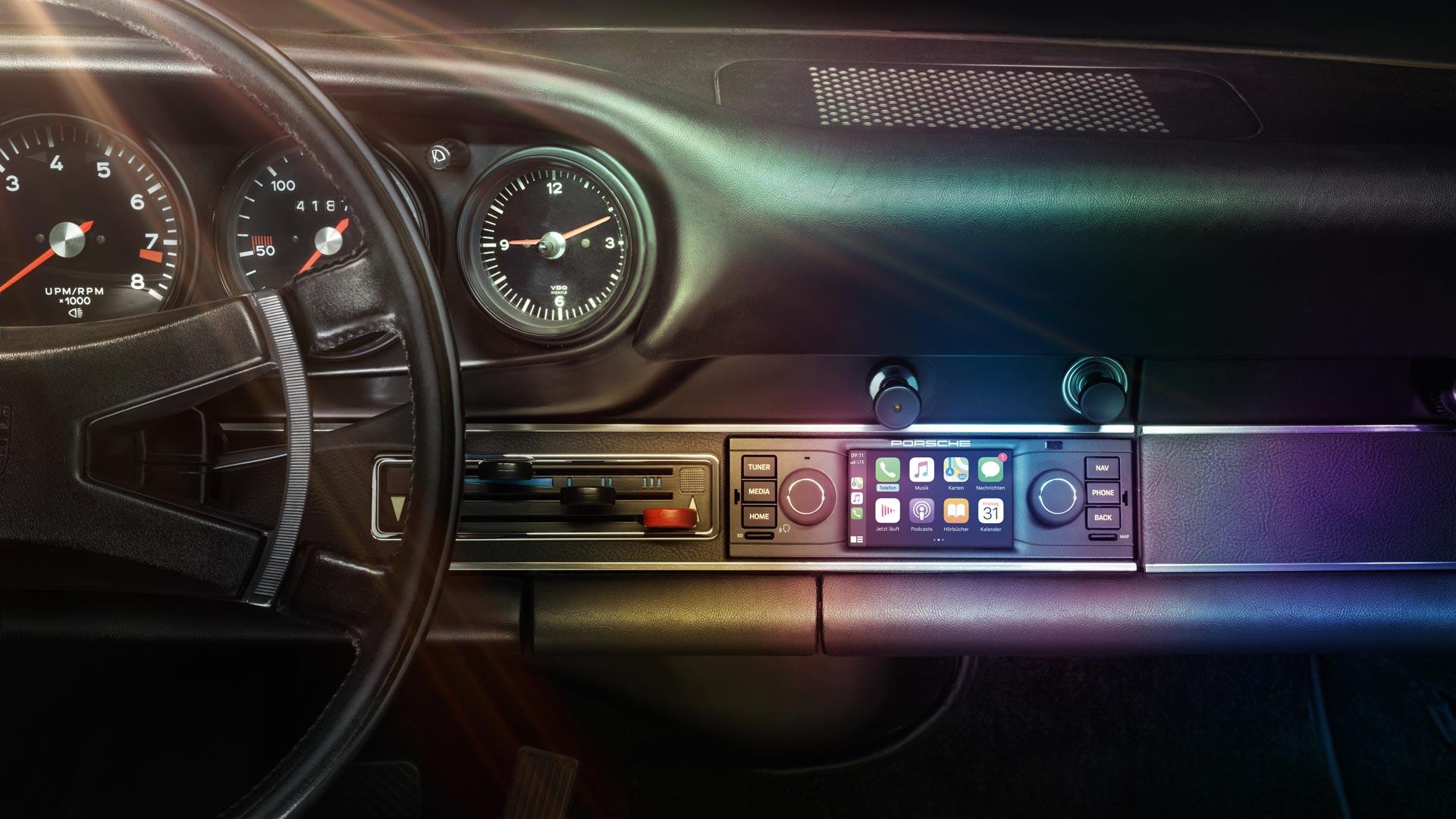 Porsche Classic PCCM Touchscreen