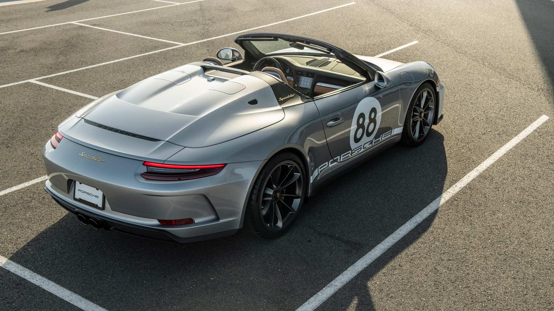 Porsche Speedster COVID 19 Auction