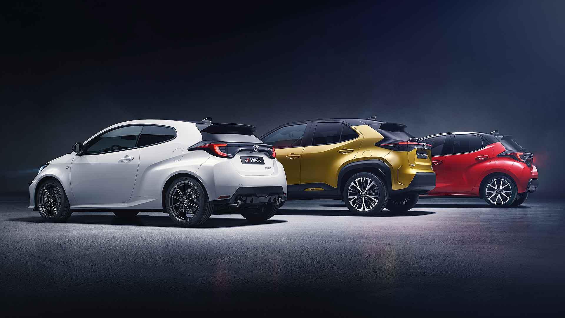 Toyota Yaris famili