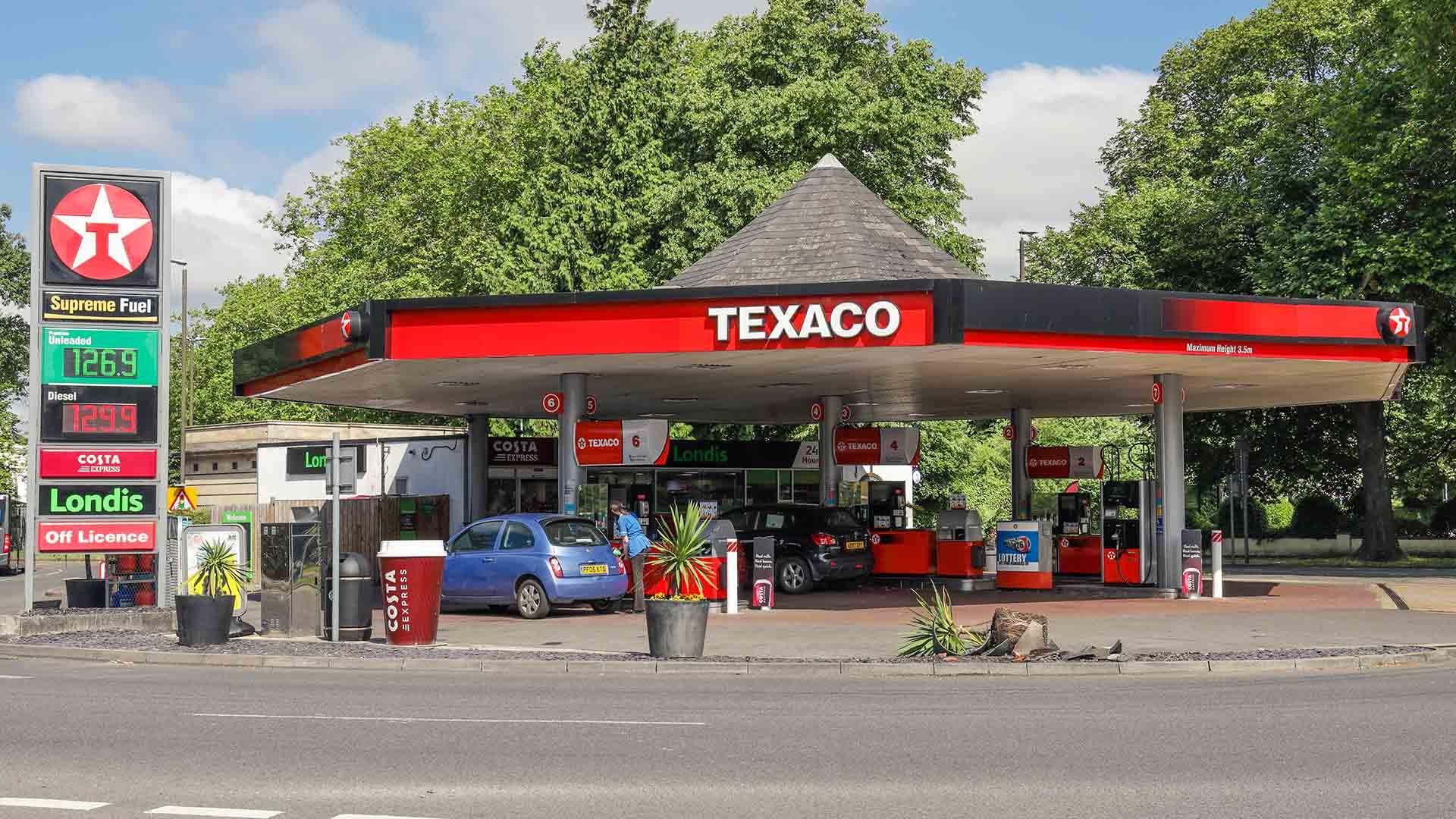 Texaco petrol station