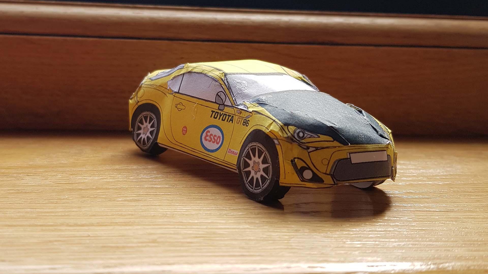 Toyota GT86 model