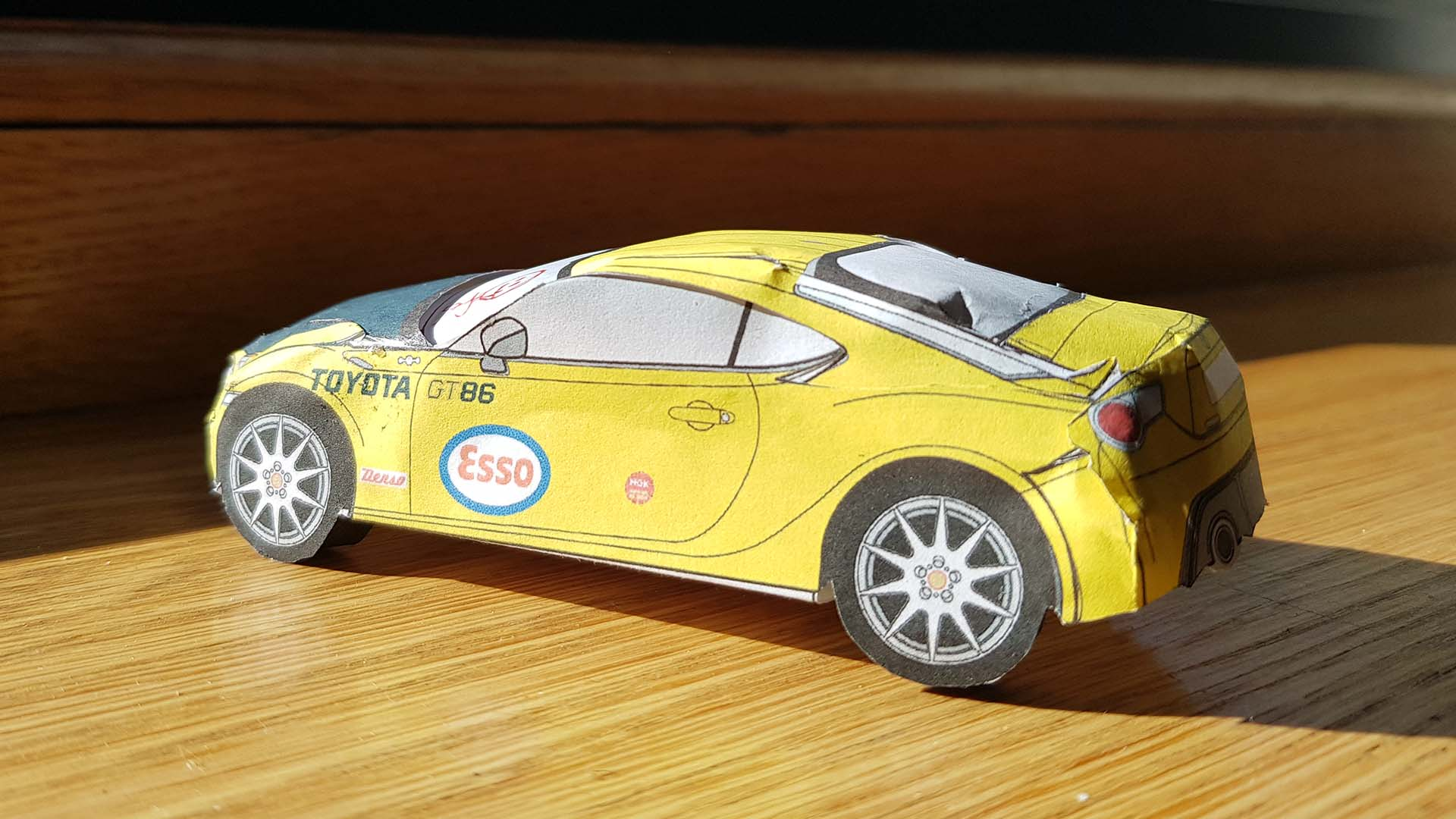 Toyota GT86 paper model