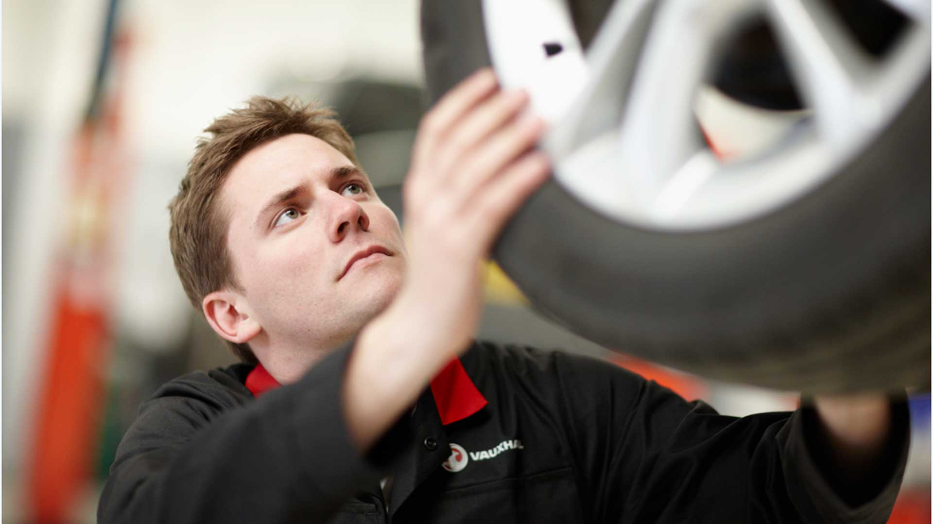 Technician working on Vauxhall Fixed Price Repairs