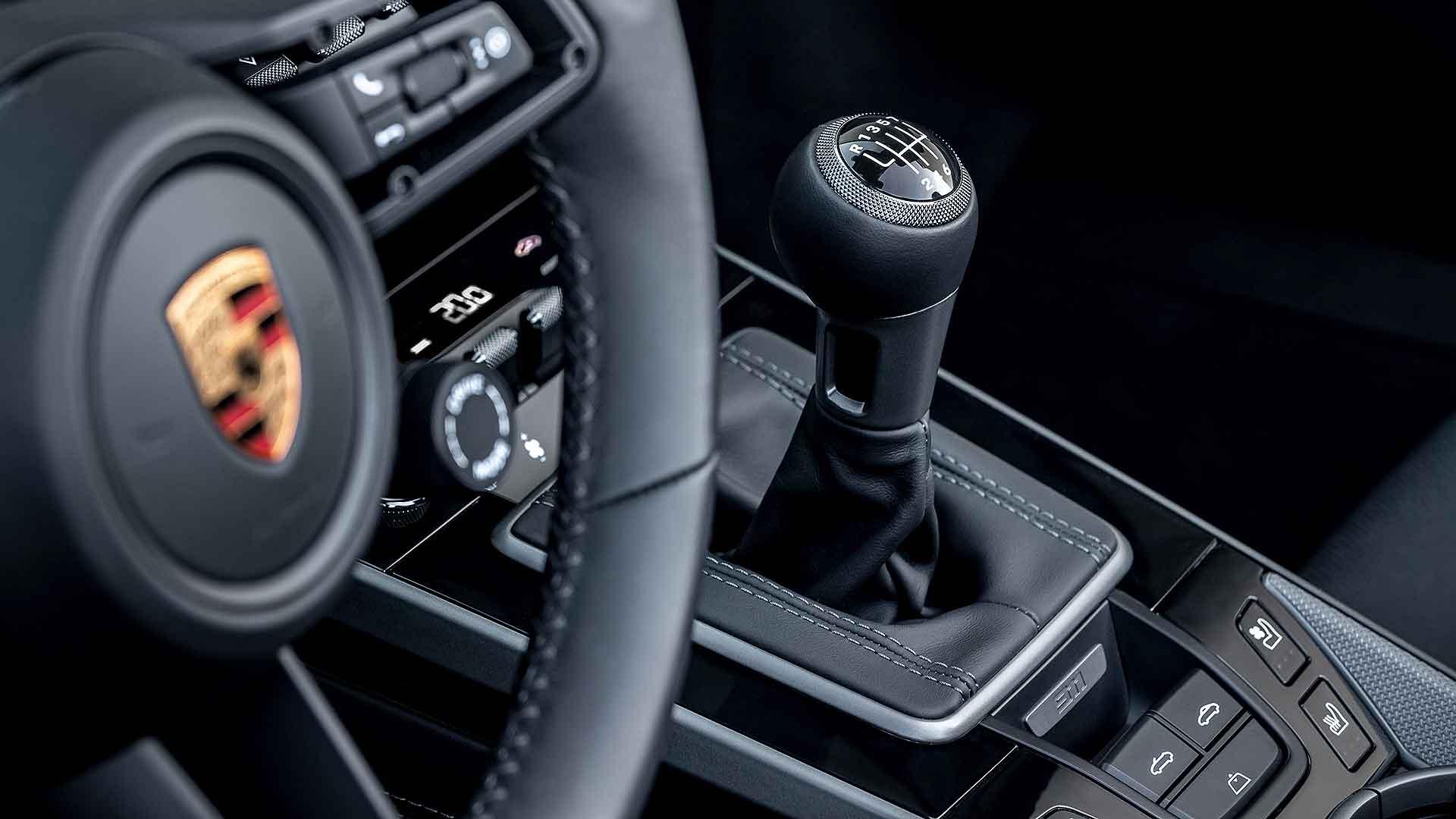 Porsche 911 7-speed manaul gearbox