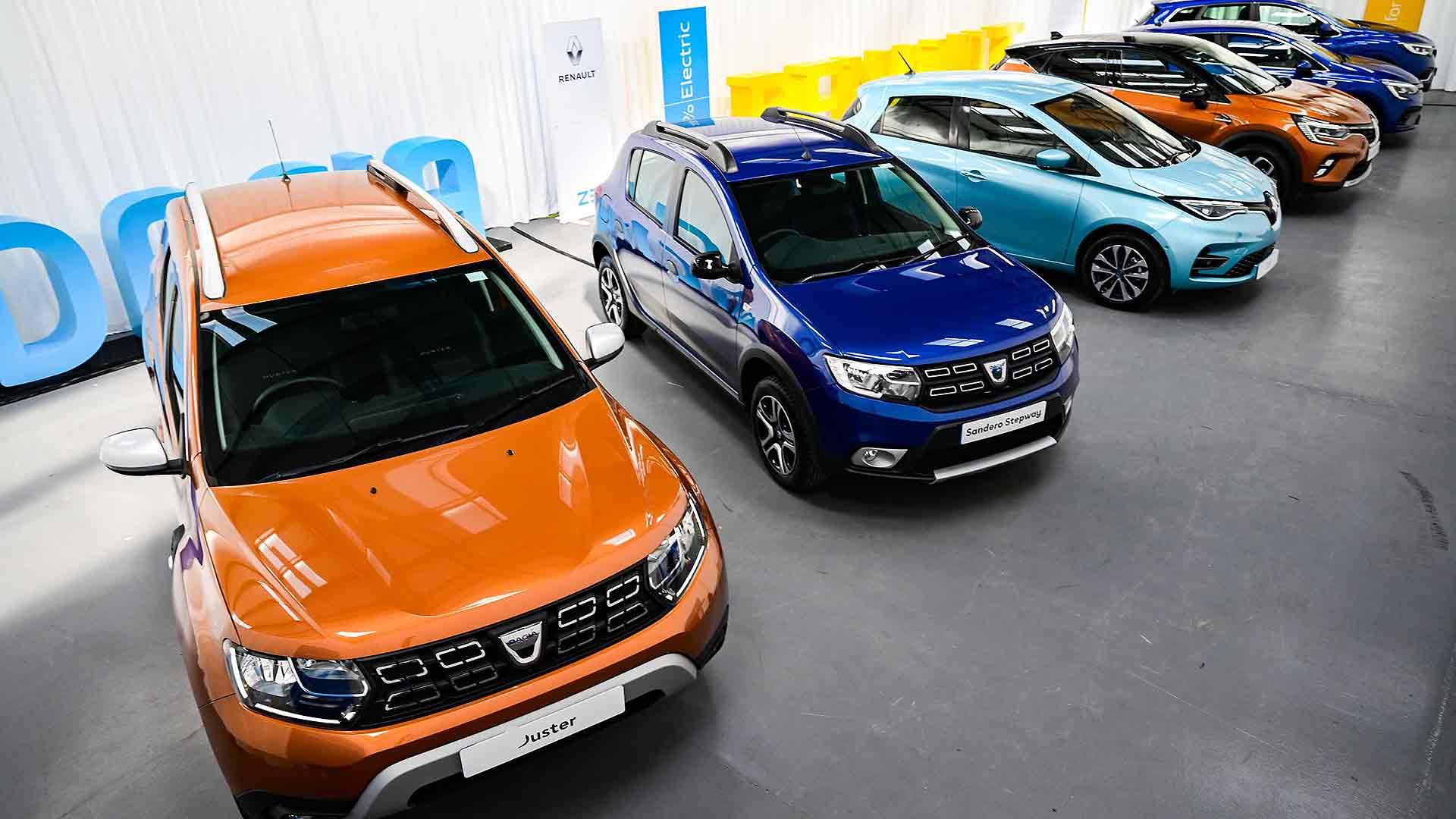 Renault Dacia car dealer
