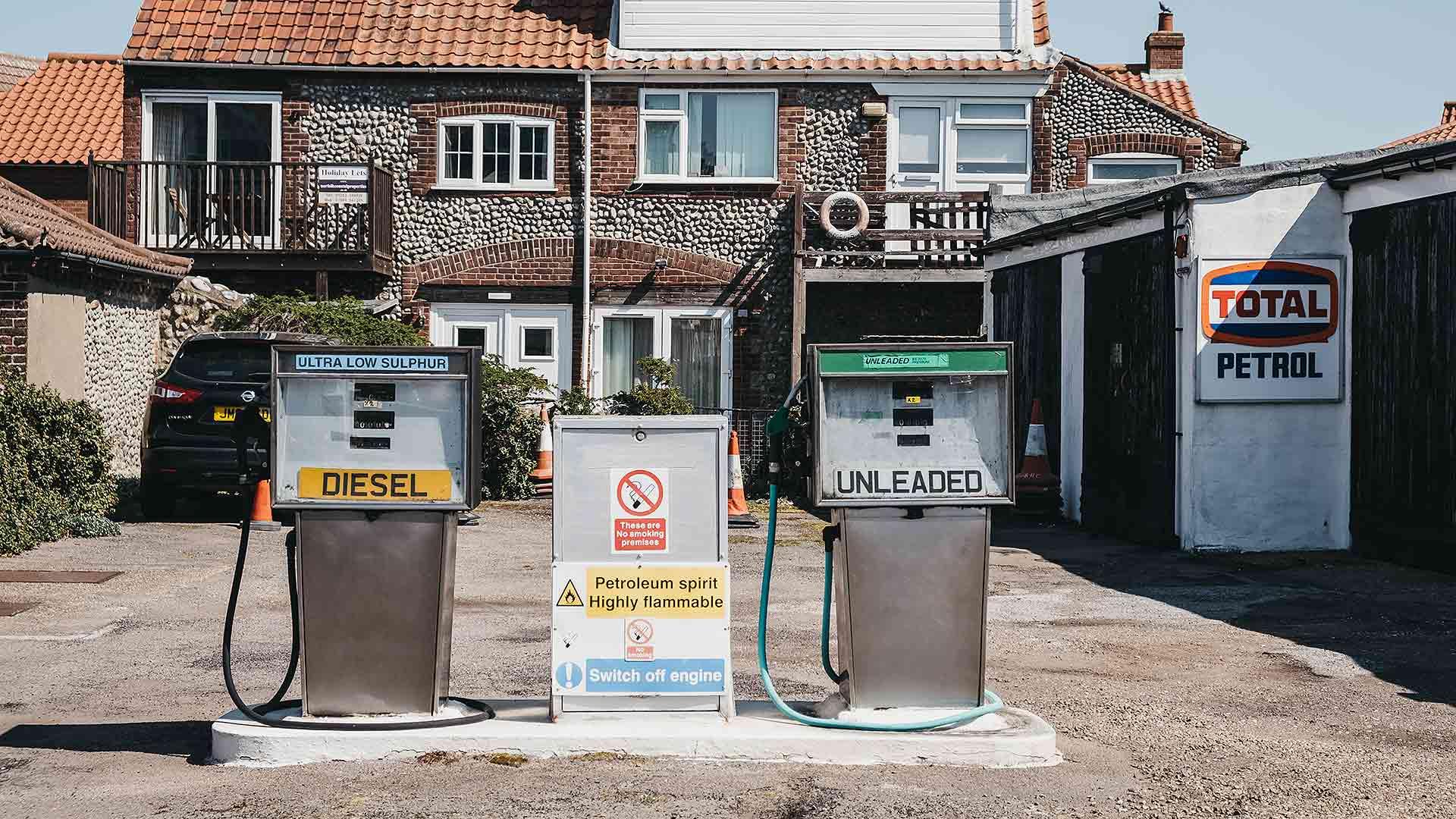 Rural filling station