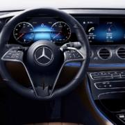 Mercedes-Benz E-Class steering wheel