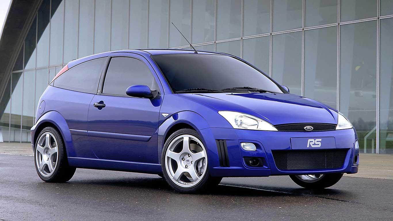 Focus RS Mk1 debuts in 2002