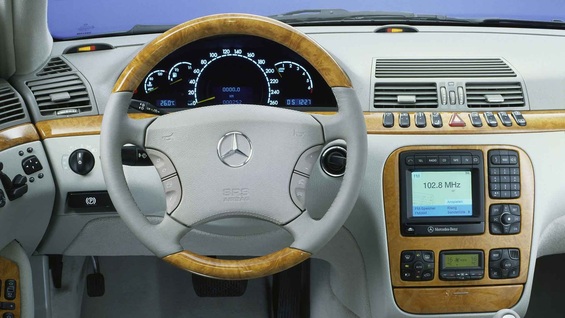 The first multi-function steering wheel