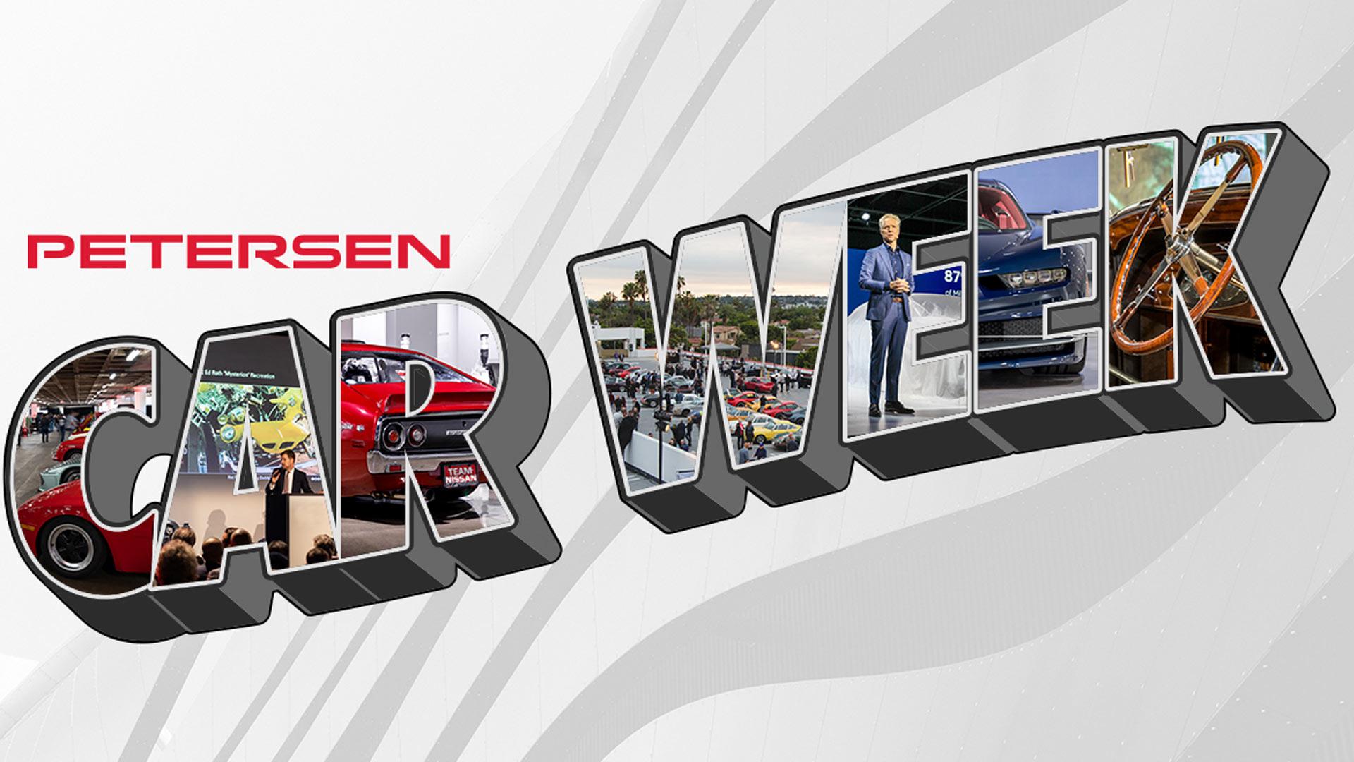 2020 Virtual Petersen Car Week