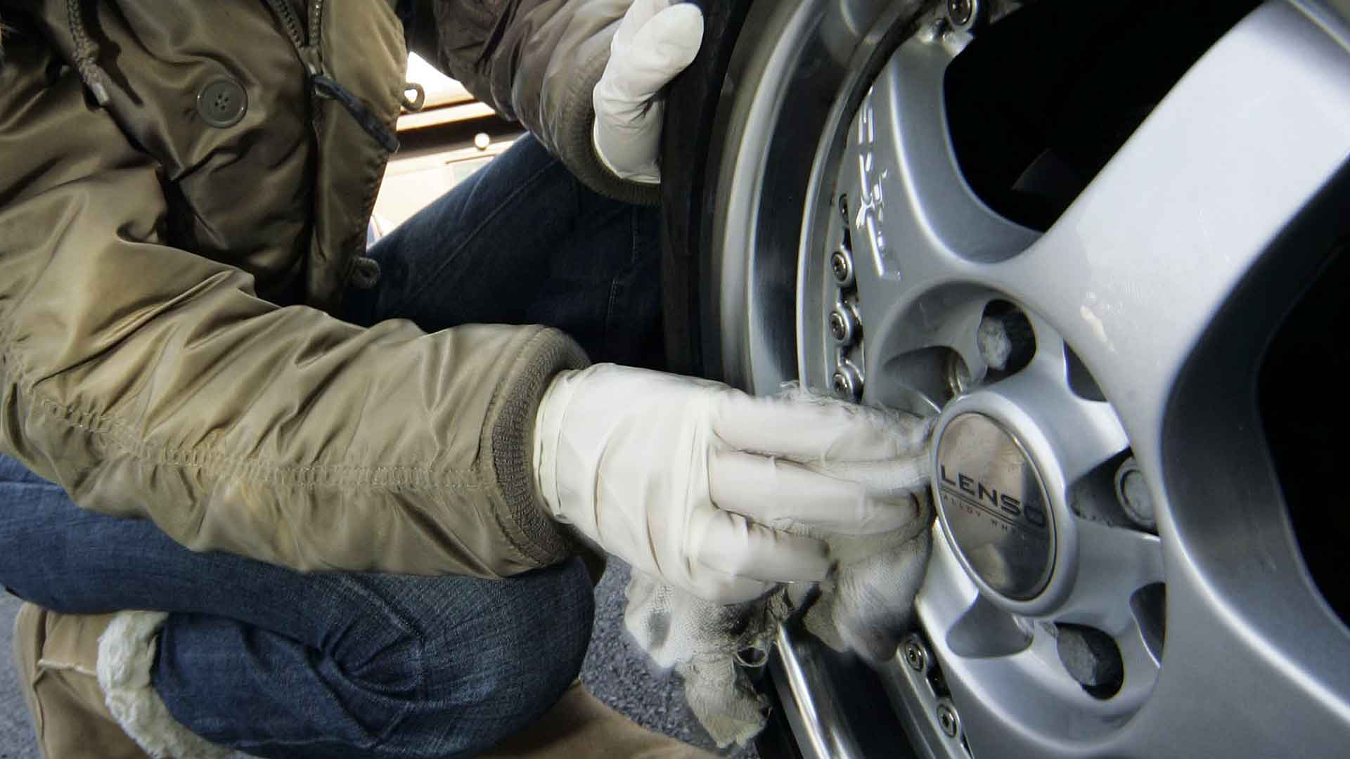 Cleaning wheels like an expert – tip 1