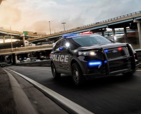 Ford Police Interceptor kills viruses