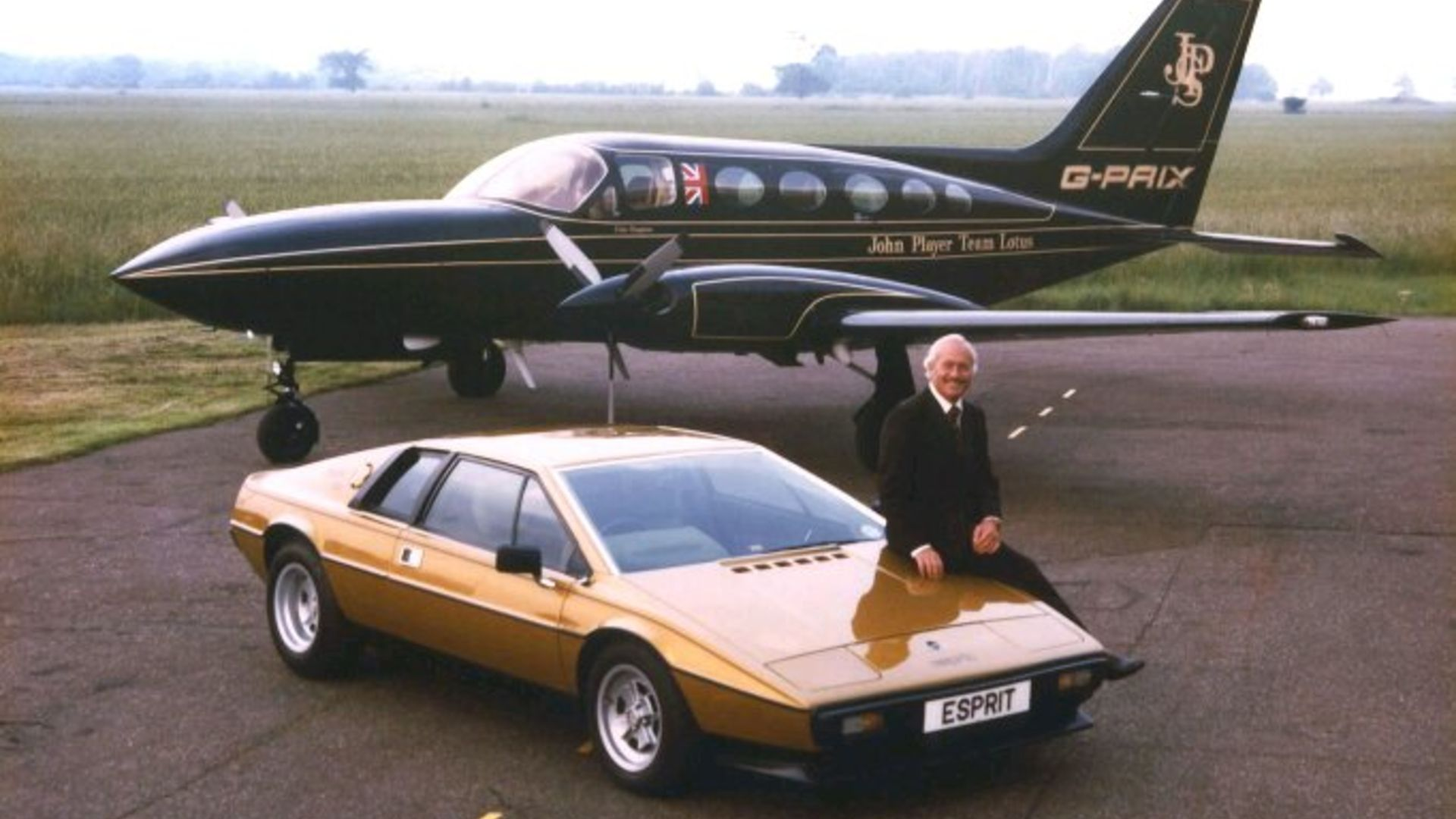 Lotus Esprit and Colin Chapman