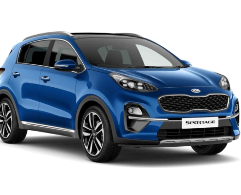 2020 Kia Sportage 3 in Blue Flame