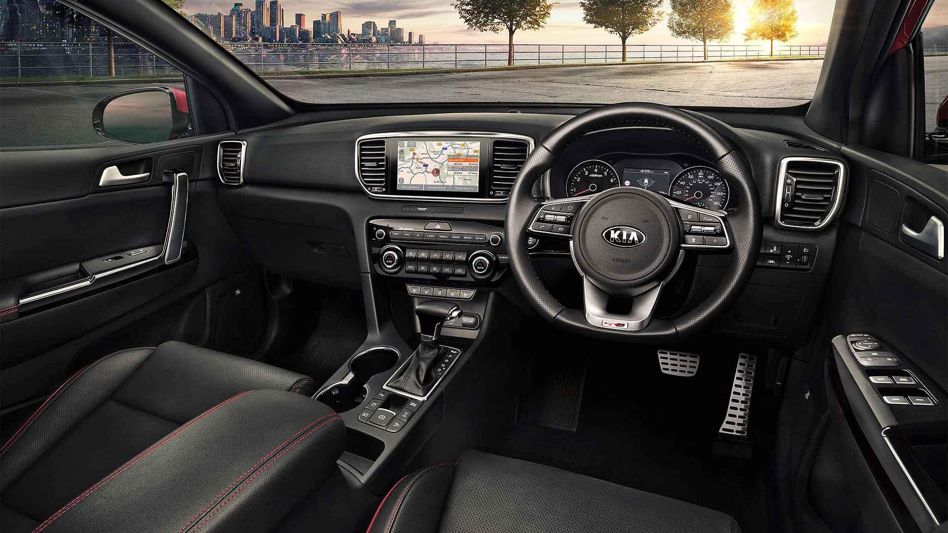 2020 Kia Sportage GT-Line interior
