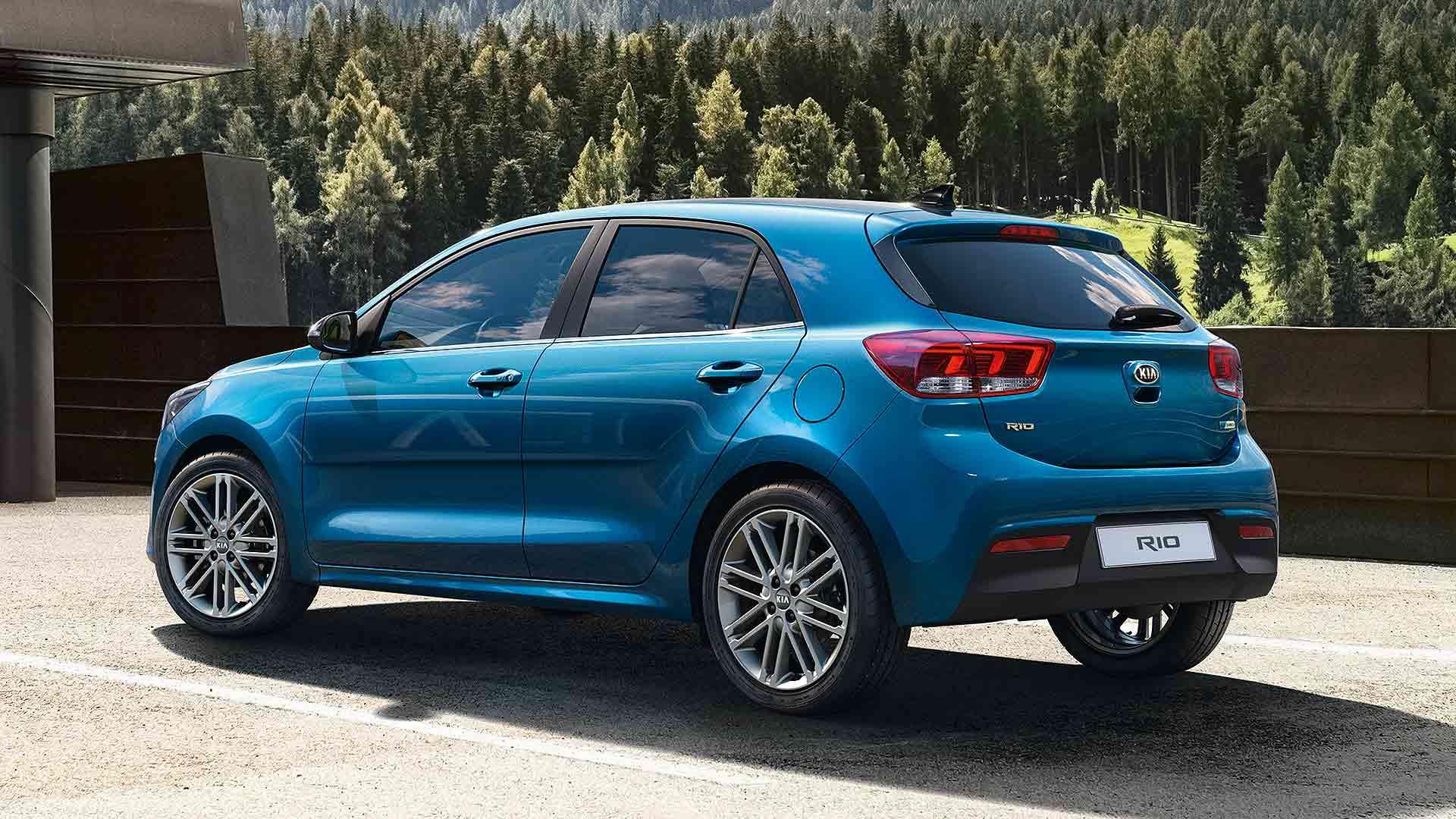2020 Kia Rio facelift rear