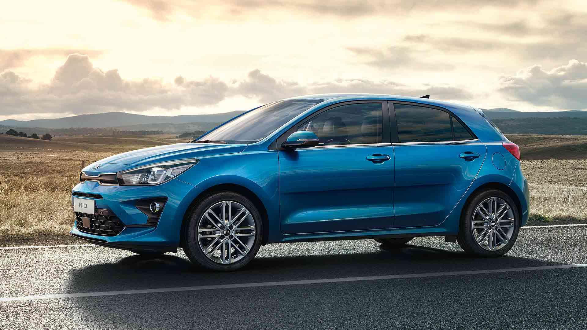 2020 Kia Rio facelift front