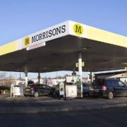 Morrisons UK filling station