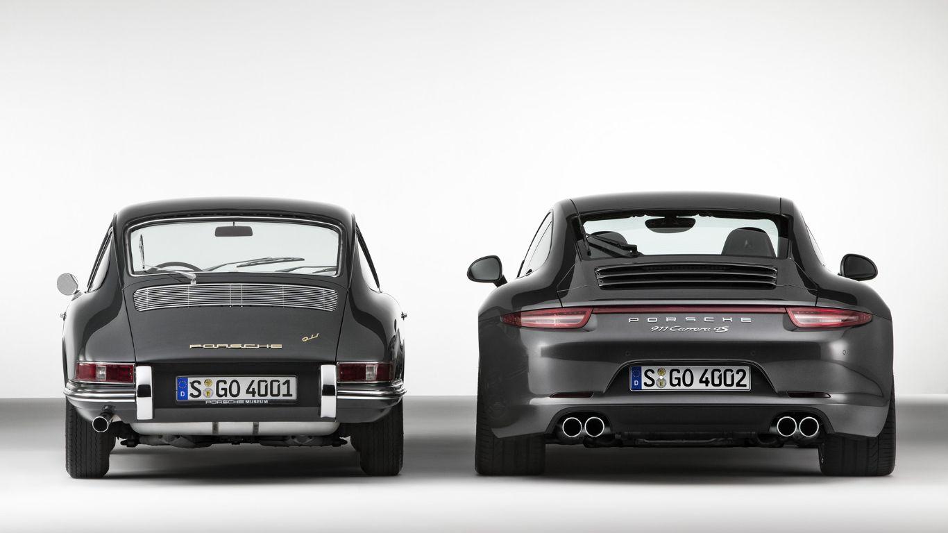 Generations of Porsche 911