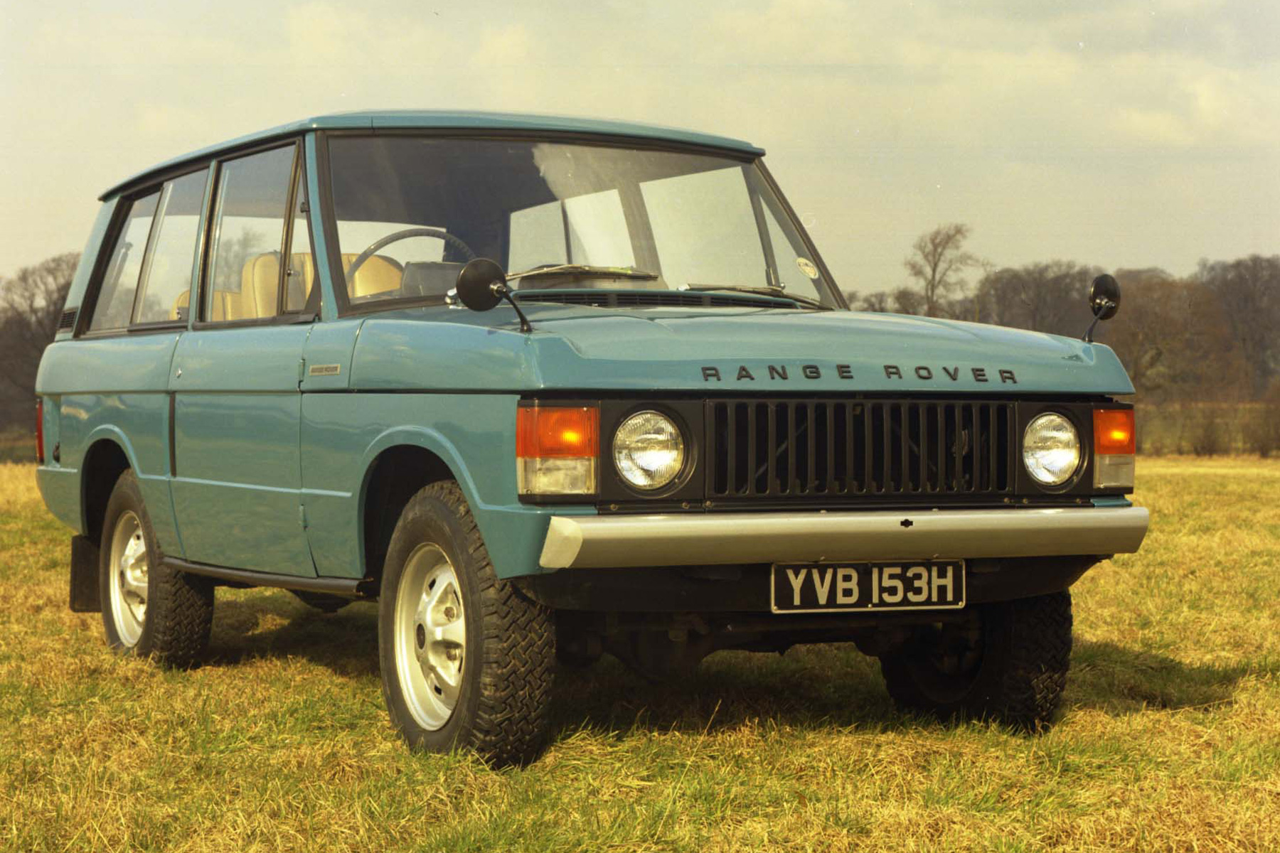 First Range Rover is built
